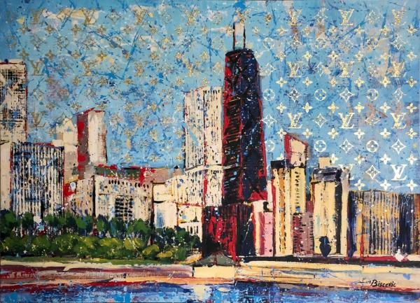 Chicago with John Hancock building